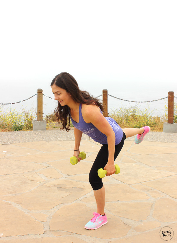 Tight and toned lower body resistance training workout.