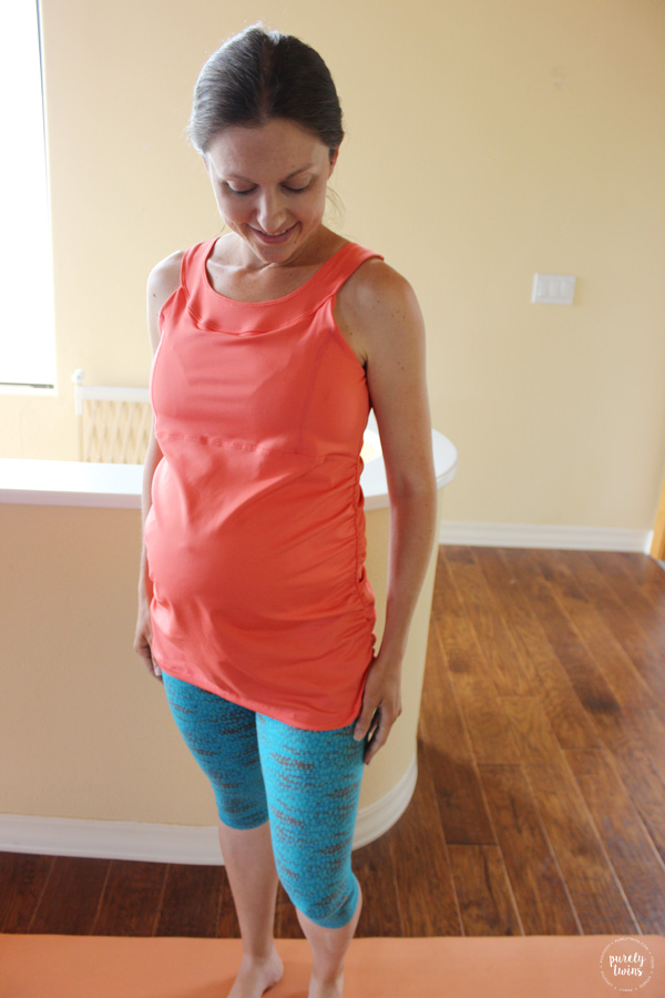 Review of Mumberry maternity activewear . A great option for moms to get some extra belly support during pregnancy. Super comfortable while providing your growing belly support during your workouts.