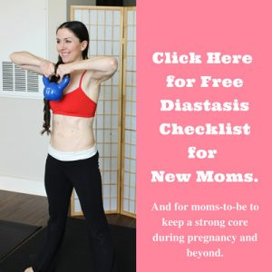 Diastasis (ab separation) Tips for Moms
