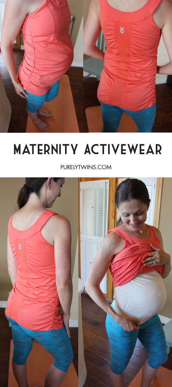 Mumberry maternity activewear to wear during pregnancy for extra belly support. Super comfortable while providing your growing belly support during your workouts.