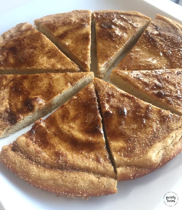 Paleo gluten free snickerdoodle cake