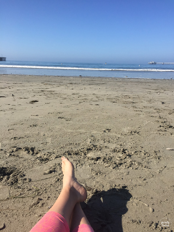 Relaxing at Availa beach CA