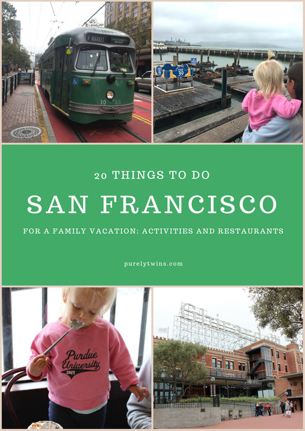 20 things to do and places to eat in San Francisco for a family vacation. Sharing highlights from our family vacation to San Francisco and Monterey, California.