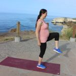 Bodyweight pregnancy workout (each trimester friendly)