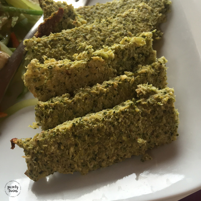 Broccoli breadsticks for a fun healthy side to dinner.