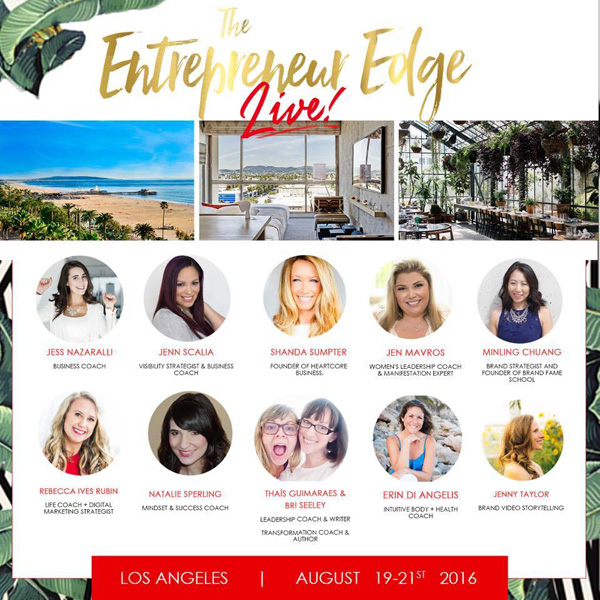 The Entrepreneur Edge Live event in LA