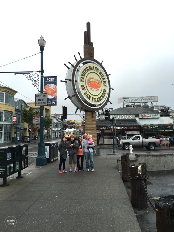 Fishermans Wharf of San Francisco