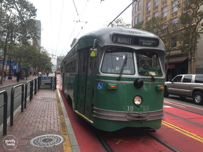 Street cars San Francicso
