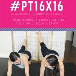 #PT16x16 workout challenge