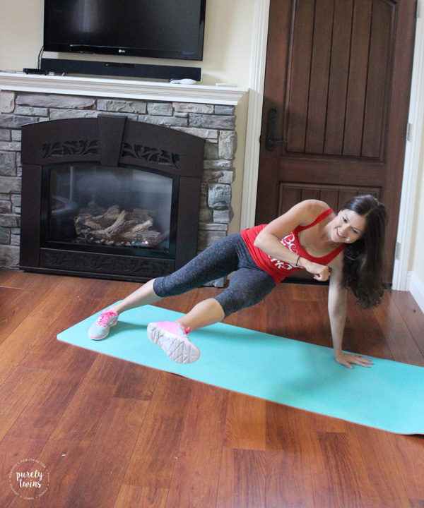16 minute bodyweight HIIT home workout for the busy ladies looking to tone their full body. Looking for a fun uplifting working out to make you feel unstoppable? CLICK to get the follow along video.
