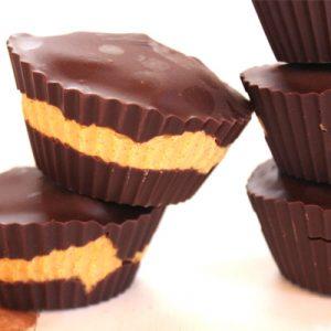 Pumpkin pie fudge peanut butter cups