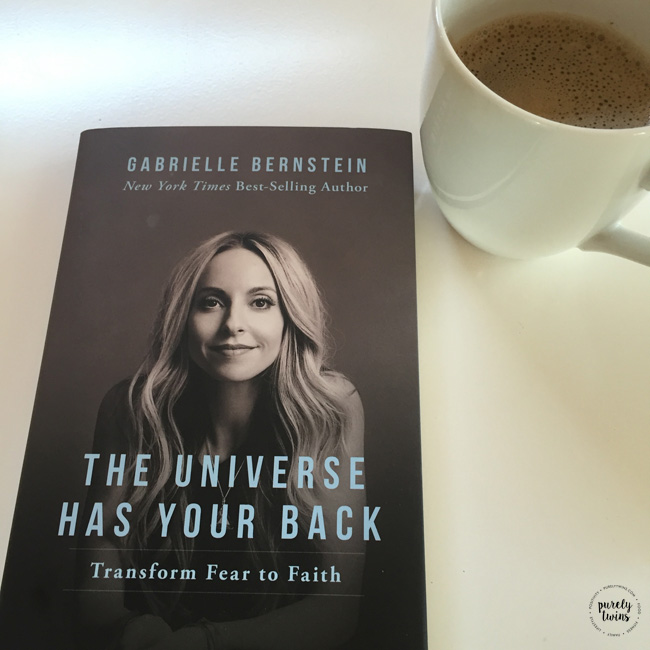 The Universe has your back. Gabby's new book.