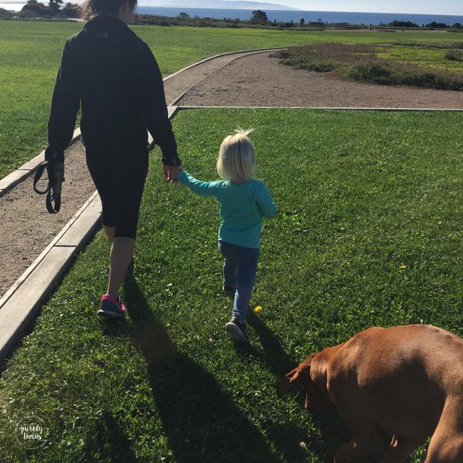 aunt-niece-walking