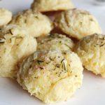 Flourless gluten-free rosemary parsnip dinner rolls