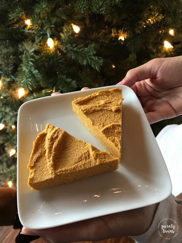 Gluten-free dairy-free healthy pumpkin pie fudge recipe