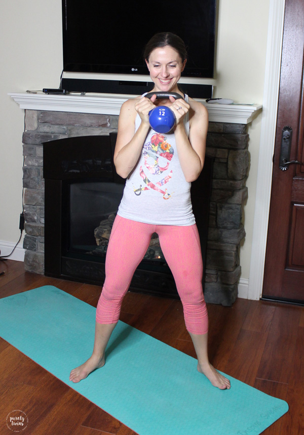 Postpartum diastasis core workout program for busy moms