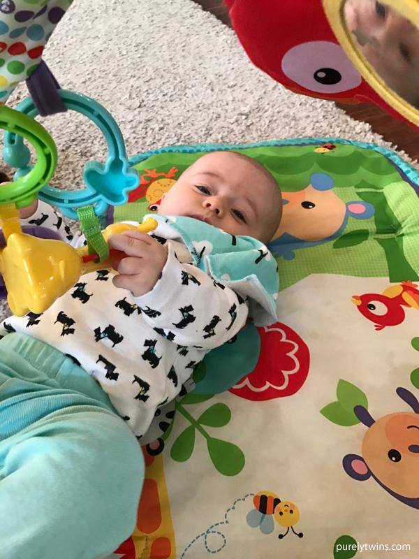 Baby grabbing toys