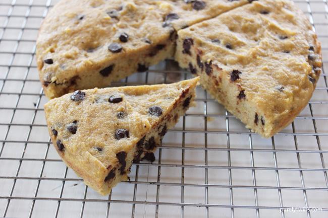 gluten-free-grain-free-egg-free-plantain-chocolate-chip-cookie-cake