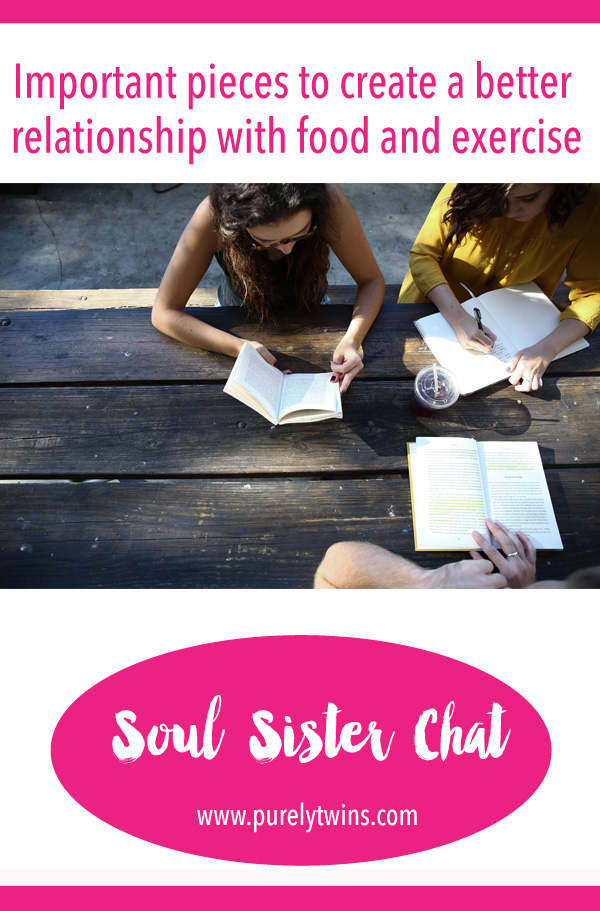 Important pieces to help create a better relationship with food and exercise. Soul sister chat with Victoria where she shares how she formed a positive relationship with food and exercise through having a strong community.