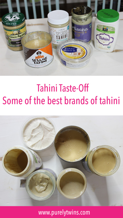 Tahini taste-off. We have a fun video tasting different brands of tahini. AND a ton of recipes using tahini. A great alternative to nut butters. What brand is best? Do you like tahini?