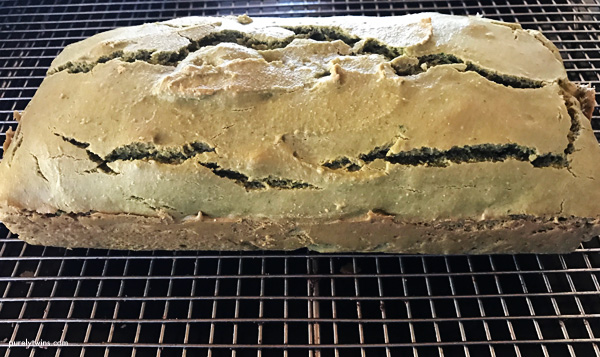 Making gluten-free grain-free HULK bread.