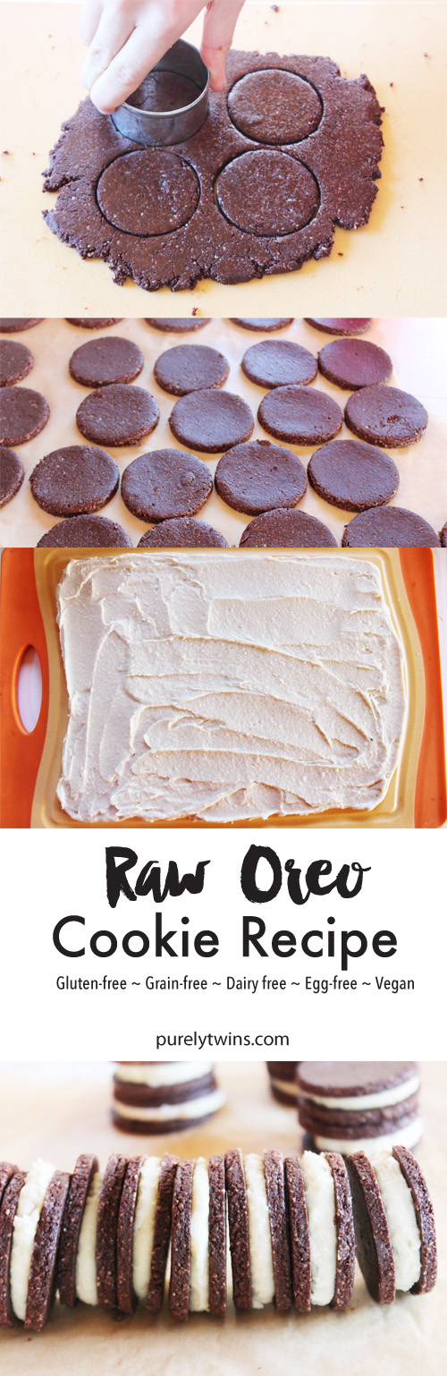 How to make raw OREOS. Yep come join us in the kitchen sisters! Nutritiously dense no-bake Oreo cookies that are FUN to make and taste out of this world. A soul nourishing dessert that will please your sweet tooth in a more healthy way! Simple, delicious and free from gluten, grains, egg, and refined sugar.