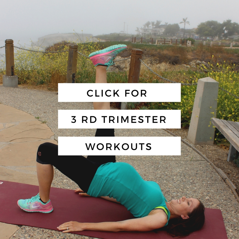 3rd trimester pregnancy workouts
