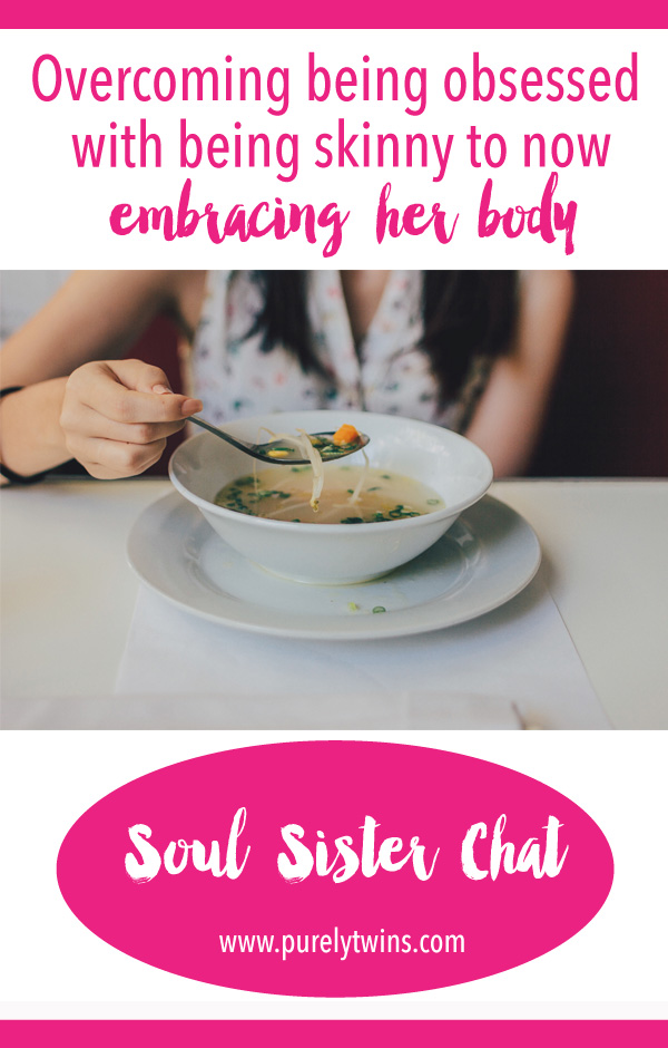 New soul sister chat with Ana. Her story of being afraid of food in fear of gaining weight to loving food and her body again. And how she came to this place of peace might surprise you.