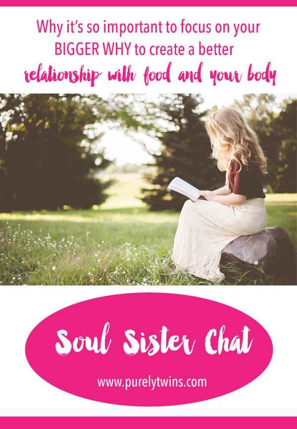 Why It's So Important To Focus On Your Bigger Why To Create A Better Relationship With Food And Your Body. Learning How To Slow Down And Asking What Is It That You Really Need To Do. Tips On How To Stop - Overeating.
