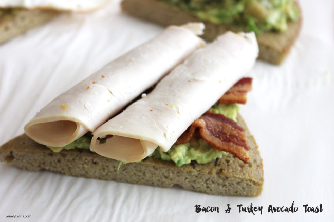 Turkey bacon avocado toast