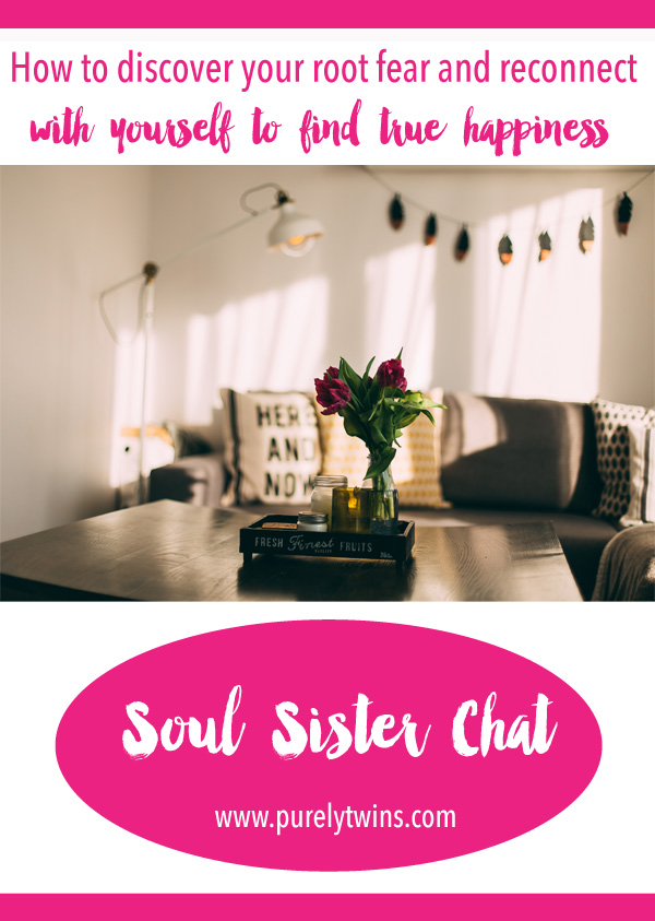How To Discover Your Deep Fear And Reconnect With Yourself To Find True Happiness with Transformational life and success coach Kris Britton. We are super excited about this soul sister chat as we talk about acne, facing fears, calling out our addictions, bringing light to the dark, importance affirmations (and use them correctly so they work) and so much more. Share this with your girlfriends.