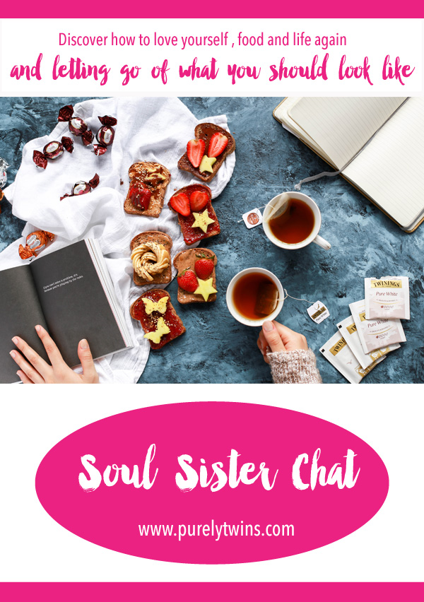 Tired of dieting and not feeling your best? Click to discover how To Love Yourself, Food And Life Again And Let Go Of What You Should Look Like. A new soul sister chat with Gilian Young. Share this with your girlfriends so we can help more women and girls love themselves now.