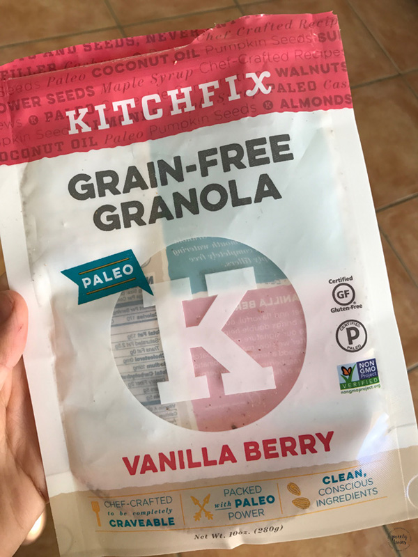 Kitchfix grain-free granola
