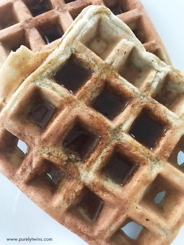Quick healthy grain-free paleo waffles.