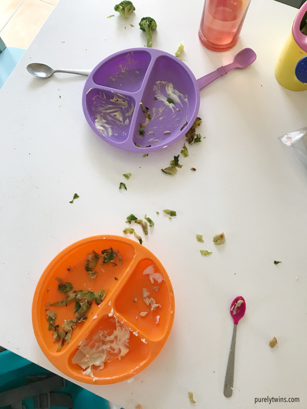 dinner aftermath from the kids