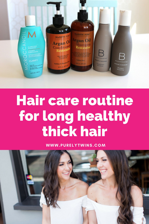 How to get strong healthy thick hair. Hair Care Routine Tips for girls with long hair.