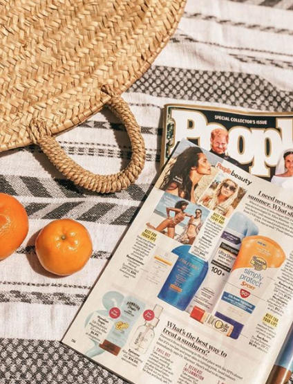 beautycounter sunscreen in people magazine