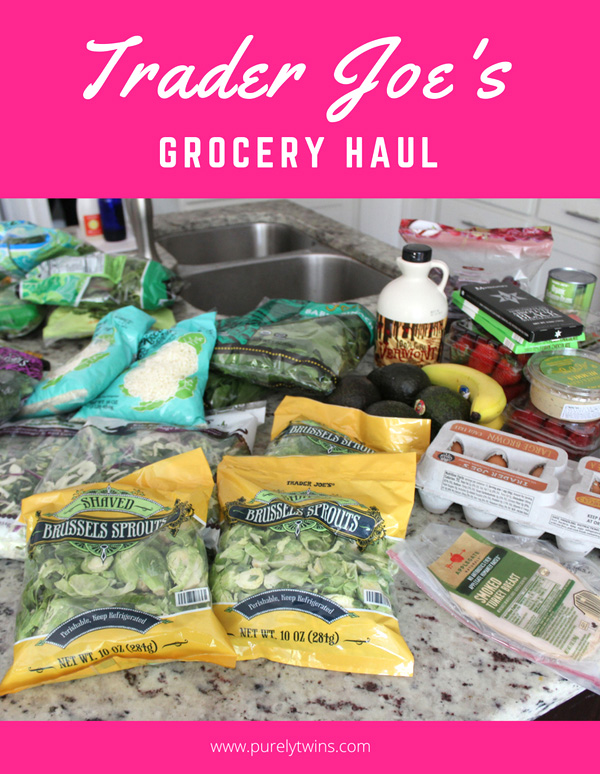 Trader Joe's grocery haul! Sharing what foods we currently buy from Trader Joe's. Do you shop there? What are your favorites? You will see we love our veggies especially brussel sprouts!