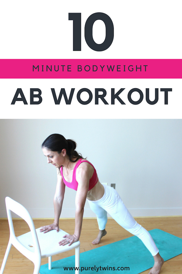 Looking For A Fun Fast-Moving Ab Workout That Doesn't Take Fancy Equipement Or Hours On The Treadmill. Try This 10 Minute Bodyweight AB Workout Routine To Do At Home For Stronger ABS. Say Goodbye To Traditional Borning Ab Exercises. Let Us Know Which One Was Your Favorite.