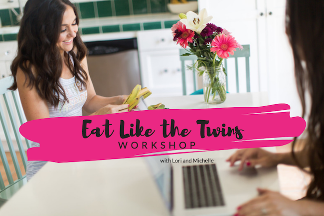 Eat Like The Twins Workshop sharing 7 powerful tips to end food fears, the guilt around food and find a way of eating that is easy, fun and healthy without the restrictions and obsessions.