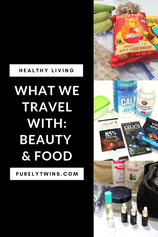 Come and see what we are currently packing in our backs when we travel for healthy living. What do we pack for food? What do we use on our faces to keep it glowing and acne free? The beauty items and food and supplements we take with us when we travel to keep us feeling our best.