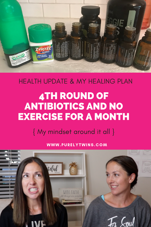 Health Update. 4th round of antibiotics, not exercising for a month and mindset ramblings. A loaded video and we want your opinions on when things happen and they just do vs it means more inner work to do. #mindset #personaldevelopment #selflove #naturalhealing