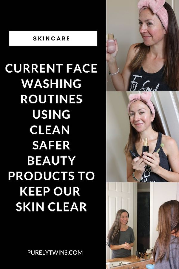Enjoy our new video sharing our current skincare routines that are so simple. We believe less is more. See our clean beauty simple skincare routines for glowing clear skin in 2020. We don't like using a crapload of products. Just a few that are totally amazing and of course our skin likes. But we also like using ones that are safe for our skin meaning that there are no weird or harsh ingredients.   Using these safer skincare products over the past 2 years has allowed us to continue to have clear skin while using safer products on our skin which makes us so happy to know this.
