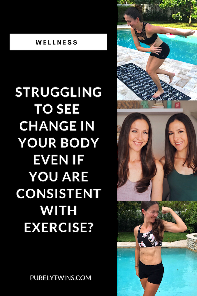If you have been struggling to see change in your body even though you are being consistent with exercise,  here we provide you with some important tips to get started seeing a change in your body. There are some important things to know when you are wanting to change your physique. #fitness #bodylove #selflove #motivation