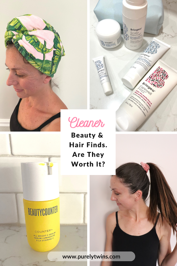 Sharing thoughts on some new 2020 clean beauty makeup and hair products, including some we found off Instagram. Are they worth it? #beauty #cleanbeauty #beautyproducts