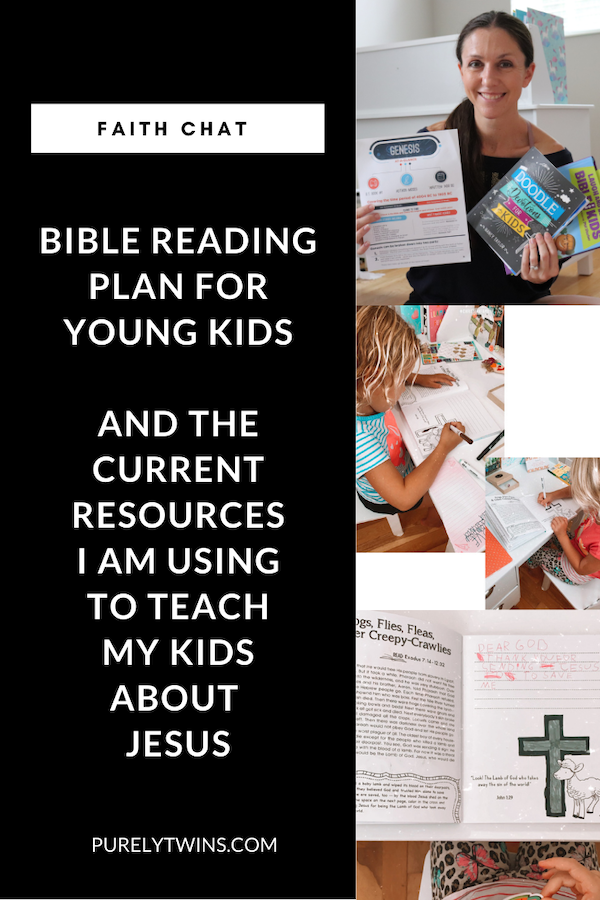 Lori shares some children's Bible resources. These are the first ones she is using and will share more over time. Plus she discusses her plan for reading the Bible and teaching her kids about Jesus to inspire and encourage other parents to teach their kids the word of God.