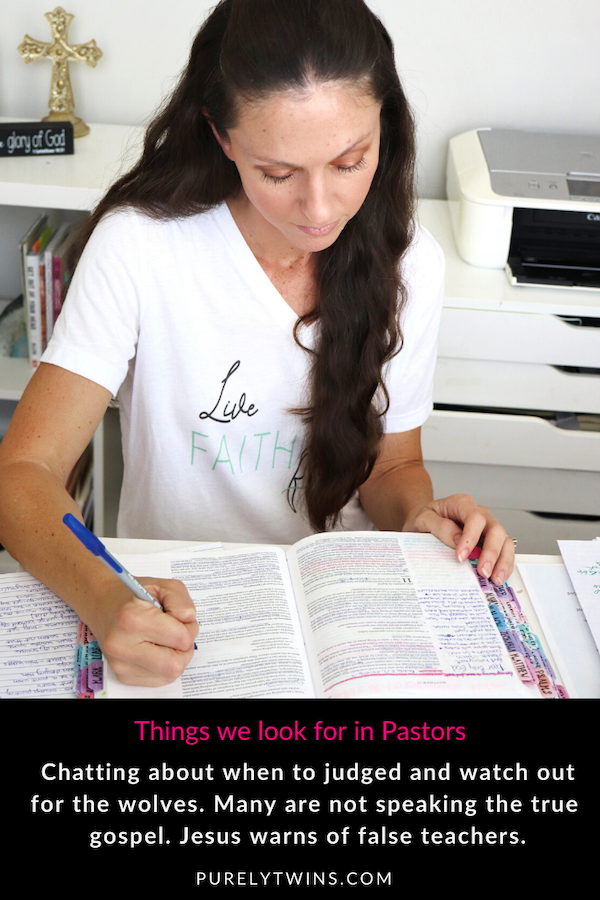 In this episode, we discuss false teachers and what to look for in gospel-speaking pastors.  And when, as Christians, we can judge.