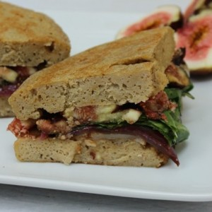 sandwich for one fig goat cheese RECIPE